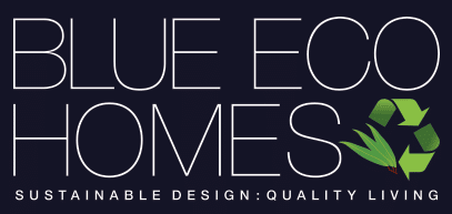 Blue Eco Homes Logo